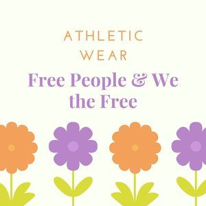 Free People (Anthropologie) Athletic Wear
